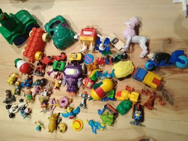 Zabawki małe i z Kinder niespodzianki