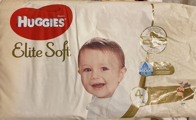 Підгузки huggies elite soft звичайні