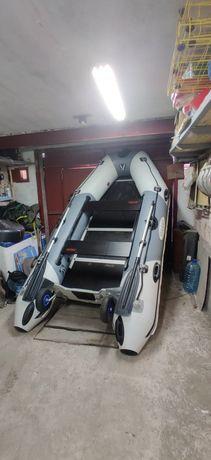 Лодка килевая ПВХ Vulkan TMK 320 состояние новой!