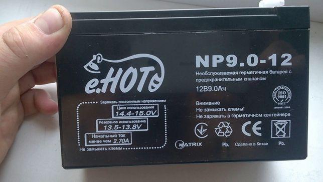 Аккумуляторная батарея ENOT 12V 9AH (NP9.0-12) AGM