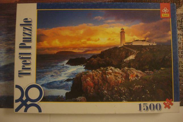 Puzzle Trefl 1500 Latarnia morska w Irlandii