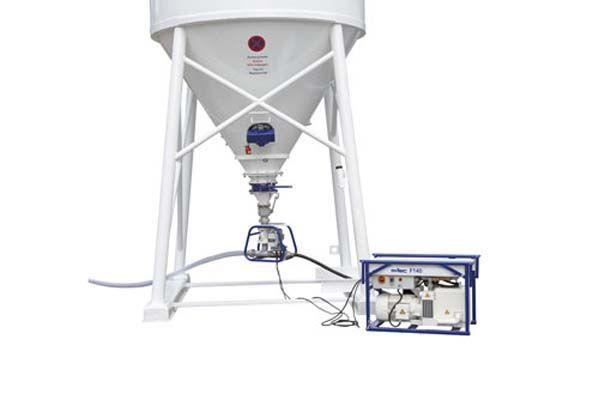compressor e equipamento completo para silo de gesso e reboco