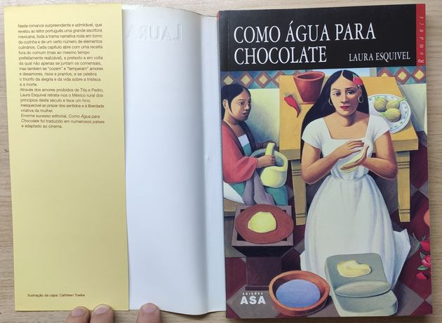 Como Água para Chocolate de Laura Esquível - Usado, portes incluídos.