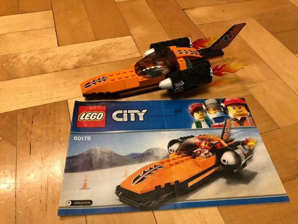 LEGO CITY 60178 samochód wyścigowy dragster