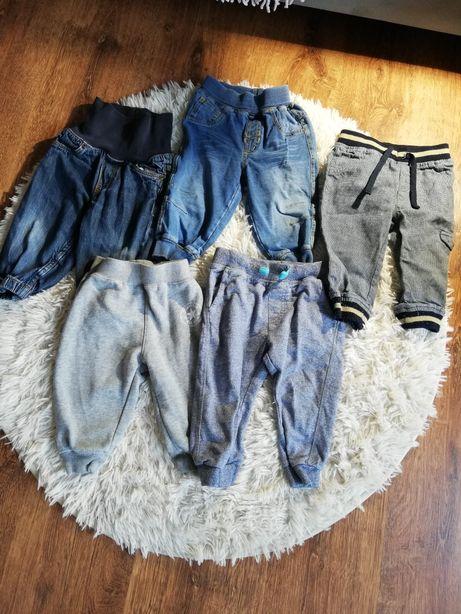 Komplet 5 par spodni dla chłopca 74 80 converse