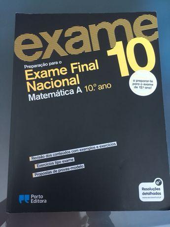 Preparar exame final matemática A 10°Ano