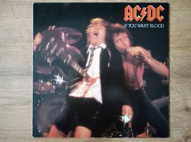 AC/DC if you want blood you've got it winyl.