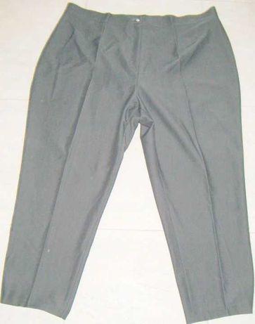 Spodnie damskie XXXL 54-56-58 c.szary kancik rozciągliwe