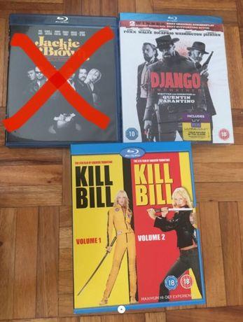 2 blu-rays Quentin Tarantino como novos, um deles selado