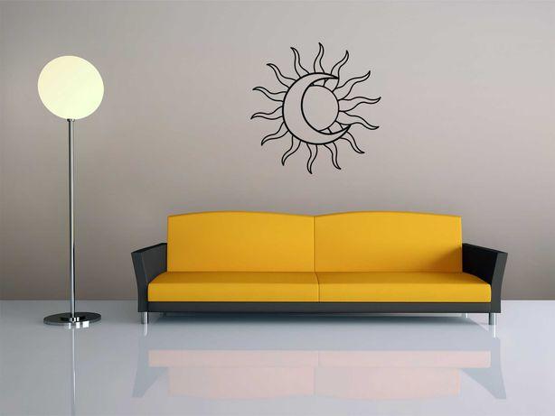 Decoração de parede Sol e Lua