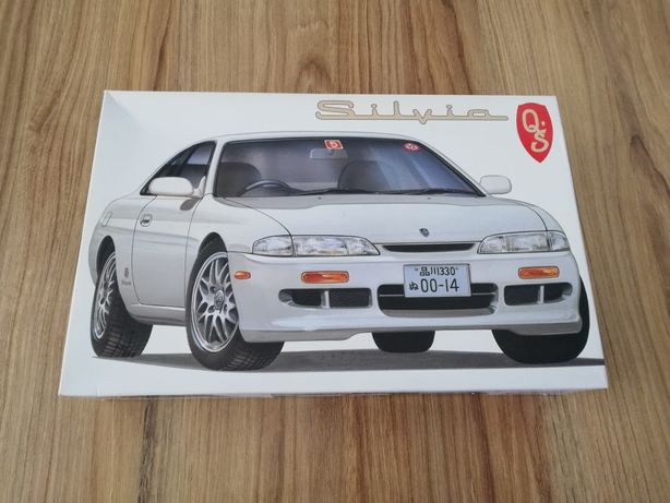 Nissan S14 Silvia Fujimi 1:24 model do sklejania