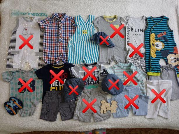 Одежда для малыша. Песочник, шорты, комбинезон