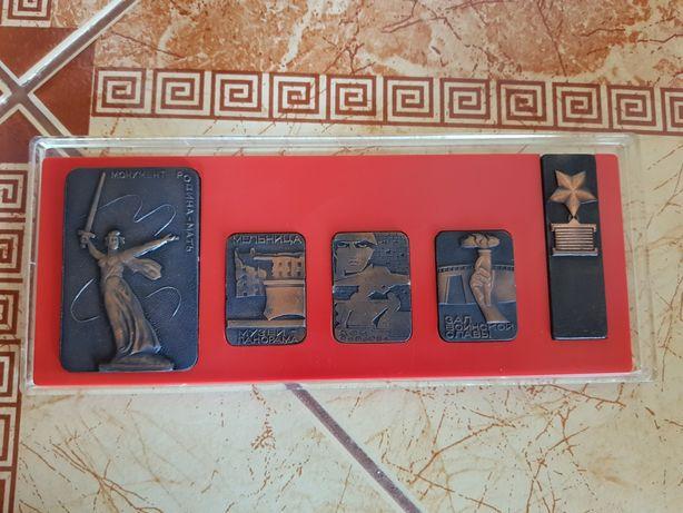 """Набір медальйонів """"Пам'яті захисників Сталінграда"""""""