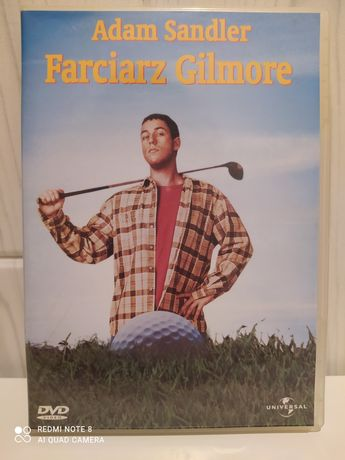 Film dvd Farciarz Gilmore -PL -unikat!