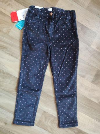 Вельветовые брюки  Waikiki девочке 110