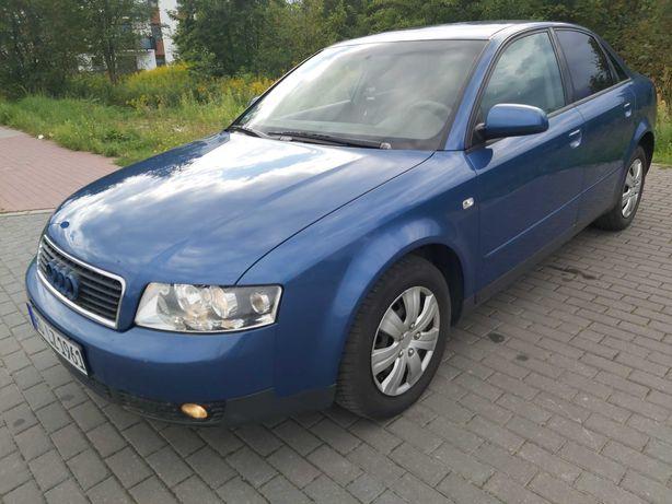 A4 Sedan 2.0 ben-131KM Rok 2001   Stan BDB 186 tys/km   klima ,Bezwypa