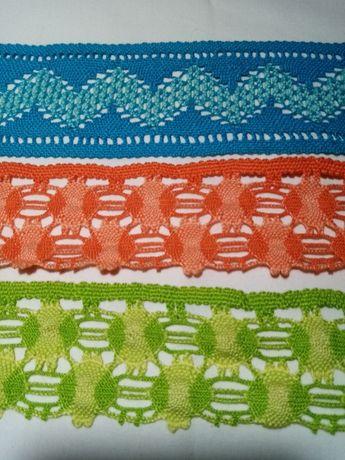 Aplicações decorativas em algodão