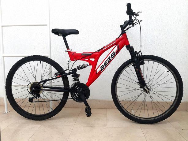 Bicicleta Berg Suspensão Total