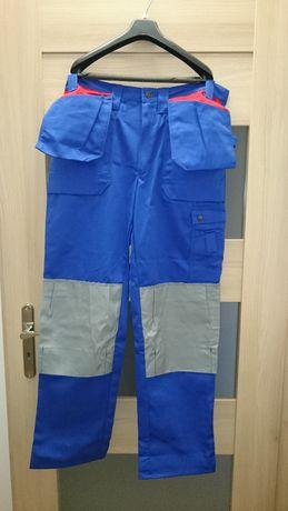 Spodnie DeLaval dojarza robocze Rozmiar 52 56 nowe