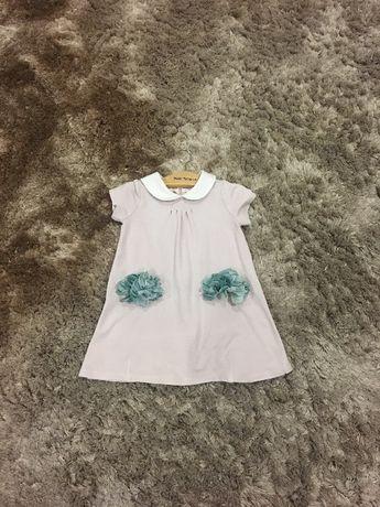 Vestido Monnalisa 12 meses