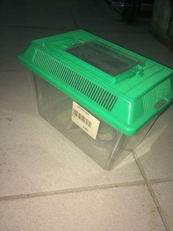 Caixa de transporte peixinho/ tartaruga