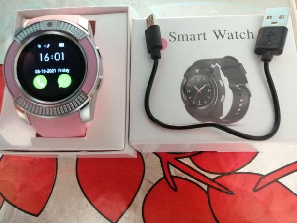 Smartwatch zegarek damski na kartę sim nowy