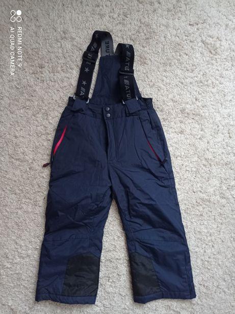 Зимние термо штаны на шлейках