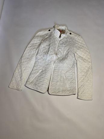 Женская стеганая куртка стеганка Burberry brit nova check ysl prada