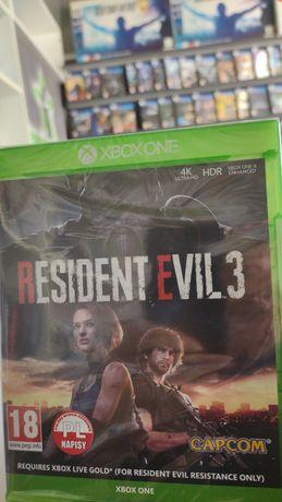 Resident Evil 3 nowa PL xboxONE