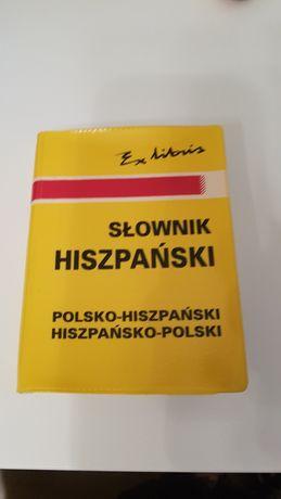 Kieszonkowy słownik j. hiszpańskiego