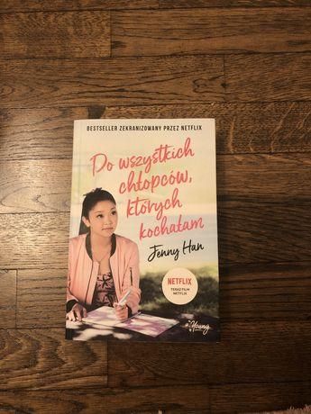Do wszystkich chłopców, których kochałam Jenny Han wydanie filmowe