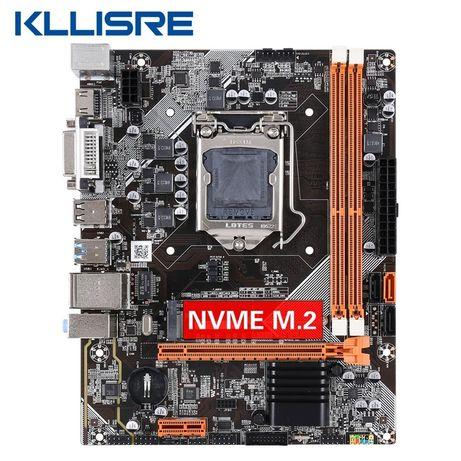 Материнская плата kllisre m2, usb 3.0, (1155 socket) НОВАЯ!!! +i5 2500