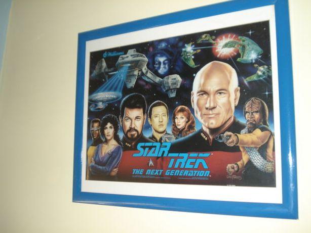 Star Trek - The Next Generation - Painel Frontal de Flippers de 1993
