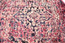 Tapete rectangular Lavável Carpet Old Pink - by OVO Home Design