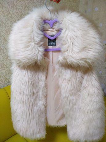 Меховая жилетка с карманами Primark сток бренд р. XS