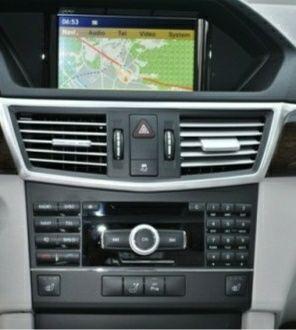 Mapa nawigacji V12 NTG4 Mercedes W212 CLS E klasa C218