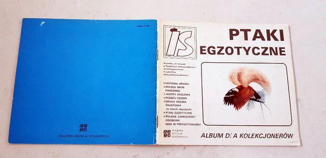Ptaki Egzotyczne - Album dla kolekcjonerów #
