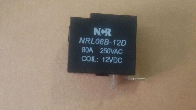 Реле NRL08B-12D 80A/250V 12V.