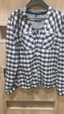 Koszula damska w kratkę z flaneli