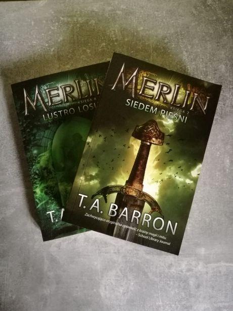 T.A. Barron - Merlin ksiega 2: siedem piesni i ksiega 4: lustro losu