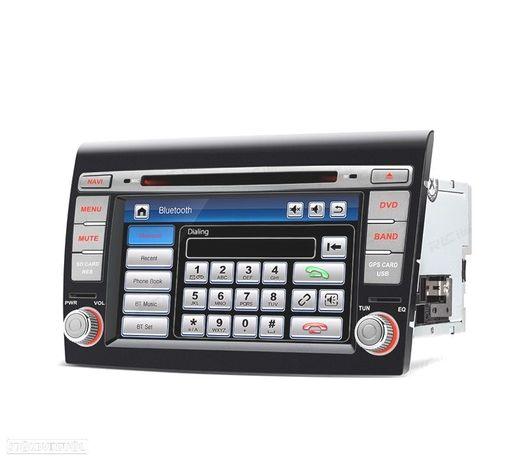"AUTO RADIO TIPO OEM FIAT BRAVO 07-14 USB GPS TACTIL 7"" HD"
