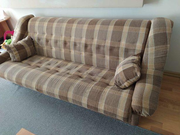 Wypoczynek, sofa i fotel do salonu-do renowacji