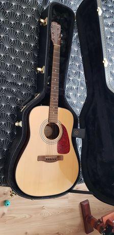 Gitara akustyczna Fender CD140S NAT + Futerał i Stojak