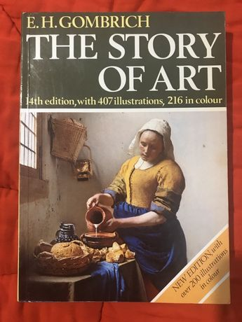 The Story of Art.  14 th Edition 1984. E.H. Gombrich book