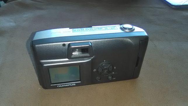Lote de 2 Máquinas fotográficas digitais Olympus e Hp