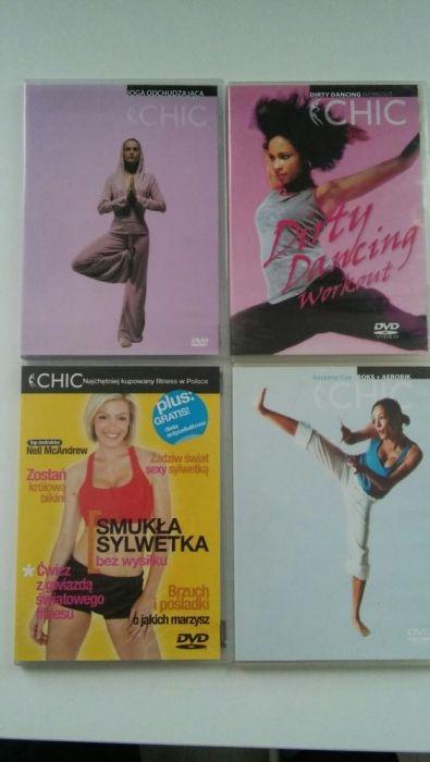 4 dvd z cwiczeniami dla aktywnych kobiet Poznań - image 1