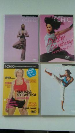 4 dvd z cwiczeniami dla aktywnych kobiet
