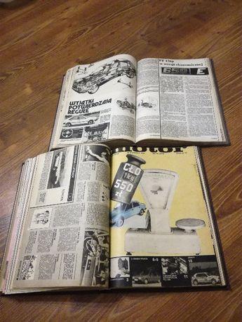 czasopismo Motor PRL kolekcjonerski rocznik oprawiony