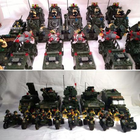 Конструктор большая армия аналог лего 81 минифиг 31 ед военной техники