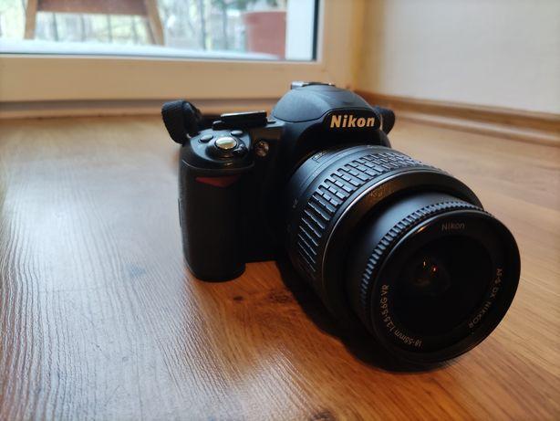 Lustrzanka Nikon D3100 + zestaw akcesoriów